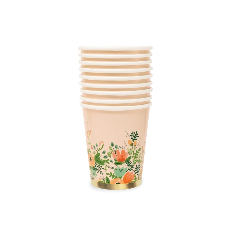 Wildflower Paper Cups