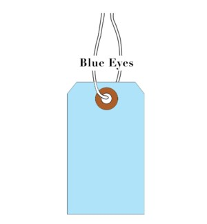 Tag-BlueEyes LightBlue (pk of 10)|Presto