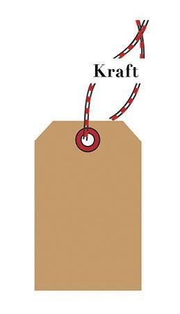 tag-Kraft Paper (pk of 10)|Presto