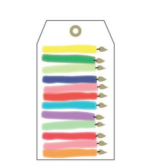 Birthday Candles Tags (pk of 5)|Presto