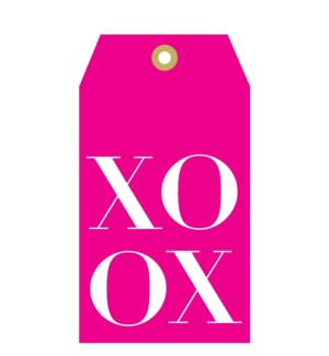 Pink Tag XOXO (pk of 5)|Presto