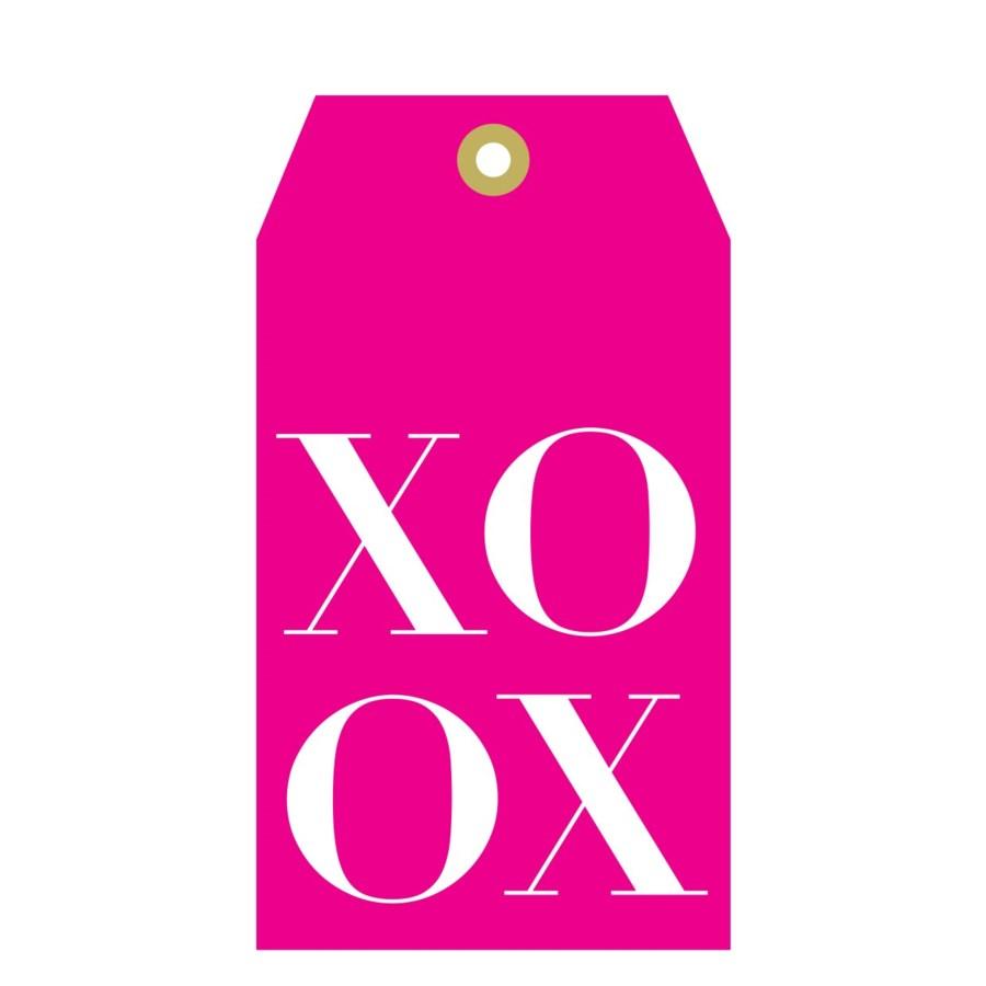 Pink Tag XOXO (pk of 5)|Presto