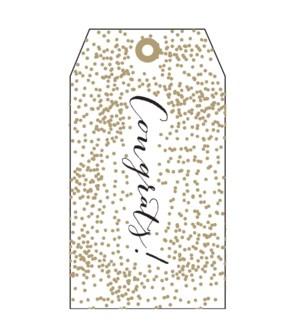 Congrats Gold Confetti (pk of 5)|Presto