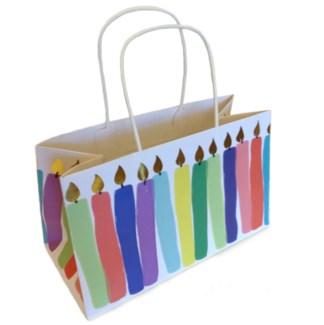 Birthday Candles Kraft Bag|Presto