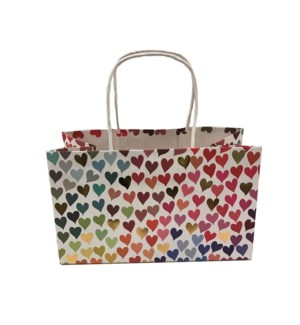BAG-Rainbow Hearts Tote|Presto