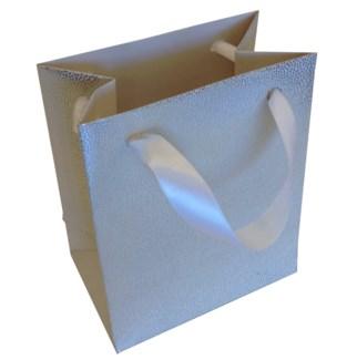 Silver Tiny Dot Texure Tiny Bag|Presto