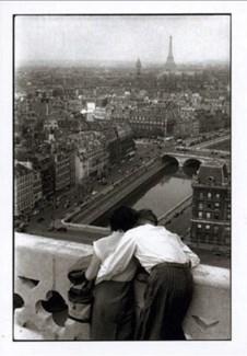 Paris seen from Notre Dame 5x7|Retrospect