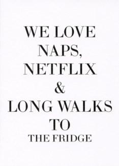 We love naps 5x7|Retrospect