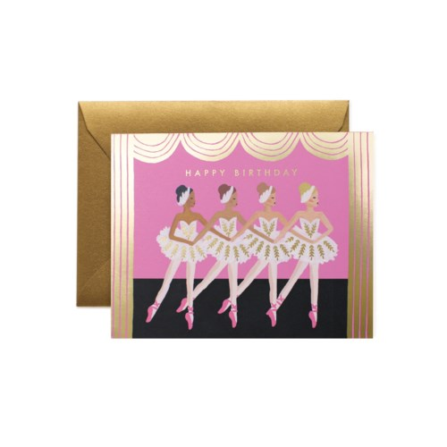 Birthday Ballet Card|Z