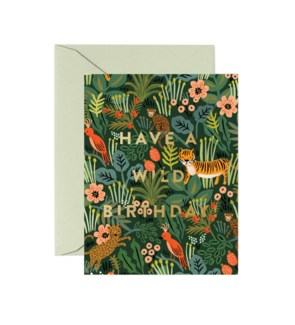 Wild Birthday Card|Z
