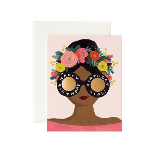 Flower Crown Bday Girl|Z