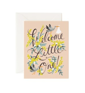 Welcome Little One Card|Z