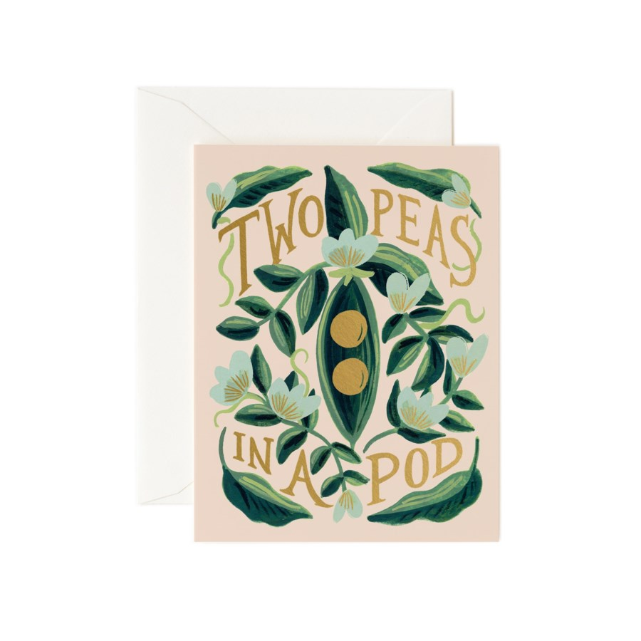 Two Peas in a Pod Card|Z