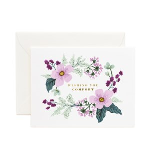 Wishing You Comfort Bouquet Card|Z