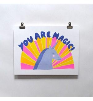 Riso Print - You Are Magic