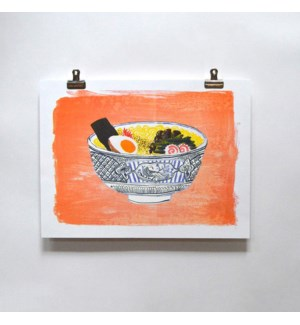 Riso Print - Ramen