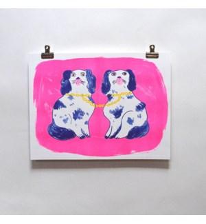 Riso Print - Dogs