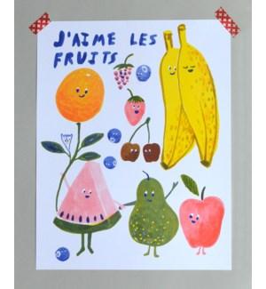Riso Print - J'Aime les Fruits