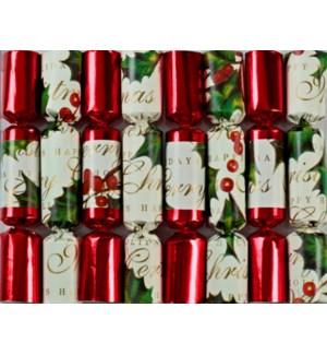 "Bows & Berries - 8 x 6"""