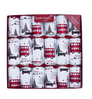 "London Christmas Sights - 6 x 12"""