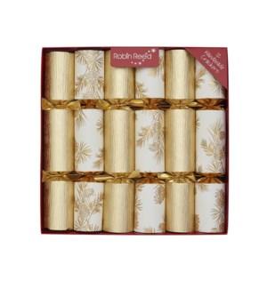 """Gold Glitter Foliage - 12 x 12"""""""