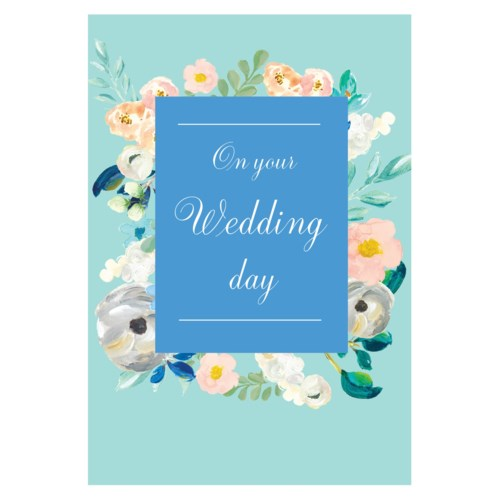 On Your Wedding Day Blue|Stephanie Dyment