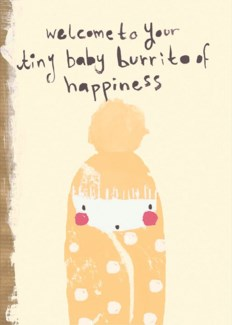 Baby Burrito 5x7|SooshiChaCha