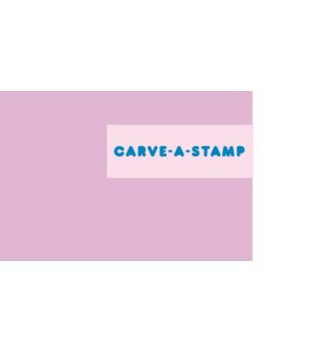 Carve-a-Stamp Block Individual
