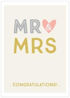 Mr & Mrs|Think of Me Designs