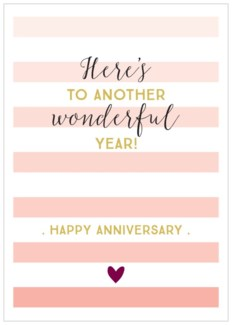 Another Wonderful Year Anniversary|Think of Me Designs