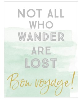 Not All Who Wander 4.25 X 5.5|Think of Me