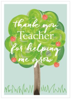 Thank You Teacher|Think of Me Designs