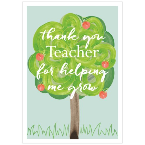 Thank You Teacher|Think of Me Designs - thank you - Paper E