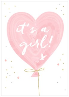 Baby Girl Balloon|Think of Me Designs