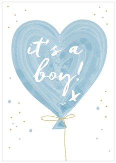 Baby Boy Balloon|Think of Me Designs