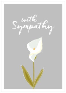 With Sympathy|Think of Me Designs
