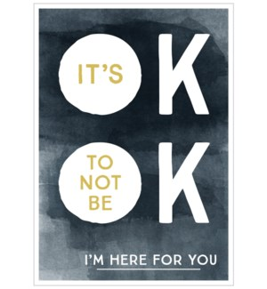 Its Ok Not To Be Ok|Think of Me