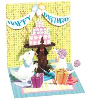 Dog & Cake Party
