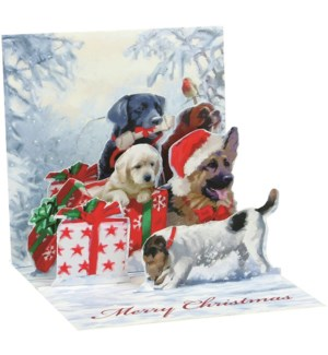 Little Christmas Dogs 3 Pack