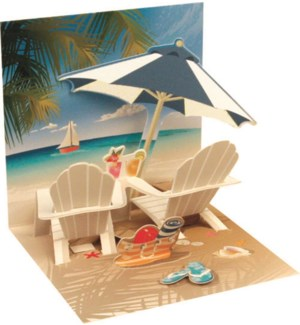 Tropical Beach Chair