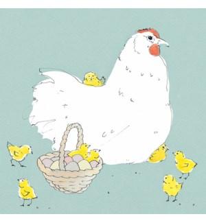 Chirpy Chicks|Art Press