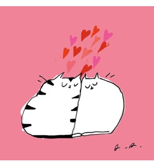 Love Cats with Hearts|Art Press
