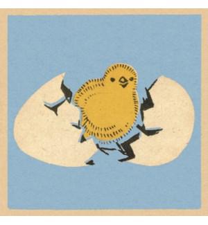 Cracking Little Chick|Art Press