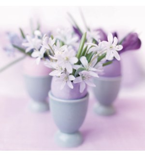 Flowers in Eggcups|Art Press