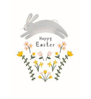 Easter Bunny Jump|Art Press