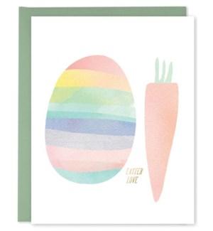 Egg Carrot|E Frances Paper