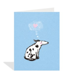 Spotted Dog Heart|Halfpenny