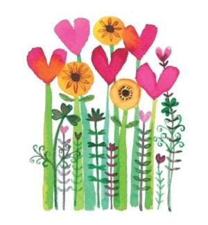 Heart Flowers|Halfpenny