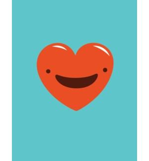 Smiling Heart|Halfpenny