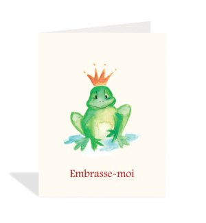 Embrasse Moi Frog Halfpenny